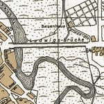 Stadtplan von 1910 (Ausschnitt)