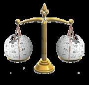 Die Waage - Symbol für Neutralität und Objektivität (Grafik: Wikipedia)