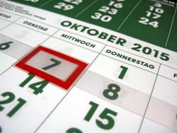 Ein Kalender für alle und alles! (Foto: Ralph Stenzel)