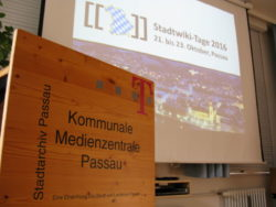 Stadtwikitage 2016 in Passau (Foto: Ralph Stenzel)