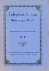 Historisches Sprechstellenverzeichnis (Archiv FürthWiki e. V.)