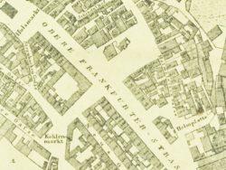 Karte von 1822 (Digitalisierung durch FürthWiki e. V.)