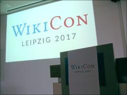 WikiCon 2017 in Leipzig (Foto: Ralph Stenzel)