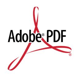Logo Adobe PDF