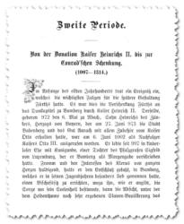 Schön anzuschauen, aber schlecht maschinenlesbar: Die Fronmüller-Chronik (Digitalisat: Bayerische Landesbibliothek)