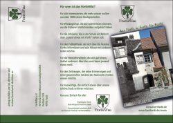 Informativ und ansprechend: unser neuer Werbe-Flyer (Außenseite)
