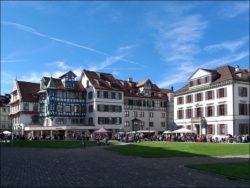 Fast so schön wie Fürth: St. Gallen in der Schweiz (Foto: Ralph Stenzel)