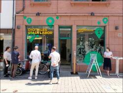 »Laden« hier, »Labor« da: Die Digitalisierung von Stadtgeschichte ist überall ein Thema (Foto: Kamran Salimi)